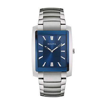 Bulova Men's 96A169 Analog Display Quartz Silver Watch