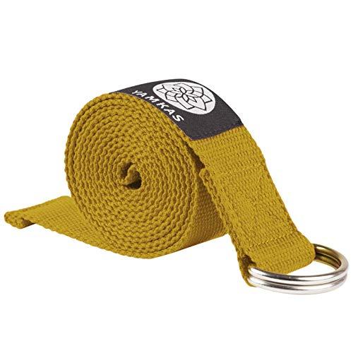 Yamkas Cinturon Yoga Correa | 1.8M - 3M | Correas Yoga Estiramiento | Yoga Strap Belt 100%...