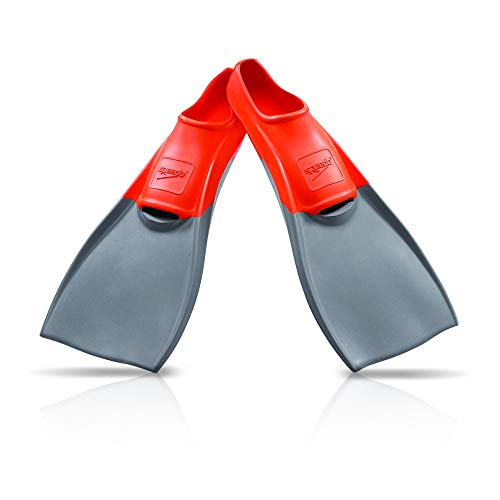 Speedo Unisex Swim Training Fins Rubber Long Blade