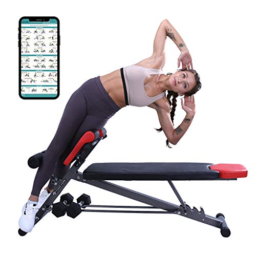 Finer Form Multi-Functional Weight Bench for Full All-in-One Body...