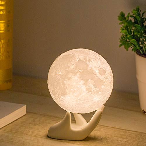 Moon Lamp, Balkwan 3.5 inches 3D printing Moon Light uses...