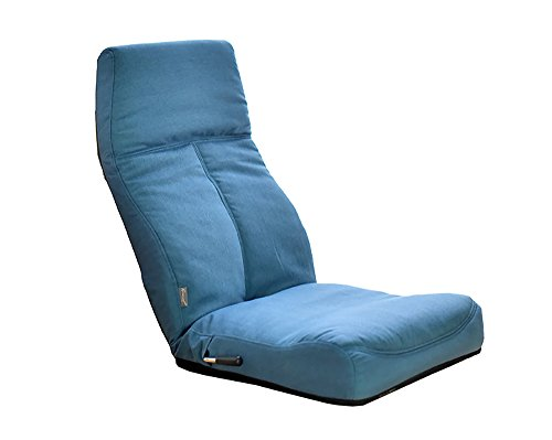 urban D.D Lazy Pieghevole Divano Creativo Sgabello Schienale Balcone Lounge Dim Blu Blue