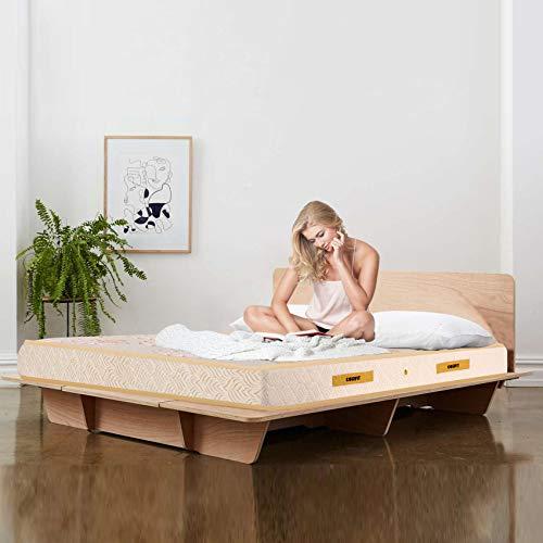 Coirfit Ortho Luxury Pocket 6-inch Single Size Spring Mattress (White, 75x36x6)