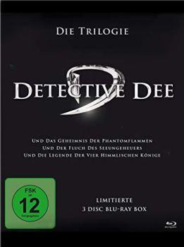 Detective Dee-Trilogiebox [Blu-Ray] [Import]