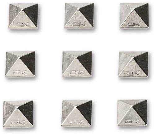 Dakine Pad Pyramid Studs, Unisex, Stomp-Pad Pyramid Studs, Chrome, Taglia Unica