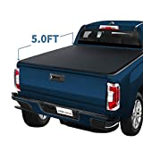 YITAMOTOR Soft Roll Up for 2015-2020 Chevy Colorado/GMC Canyon 5 ft Truck Bed Tonneau Cover