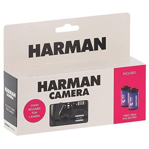 Ilford Harman Reusable 35mmフィルムカメラ(フィルム2本付き)6014777