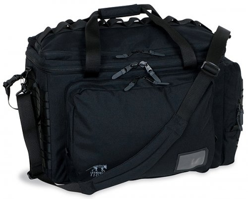 Tasmanian Tiger Shooting Bag Black Schwarz