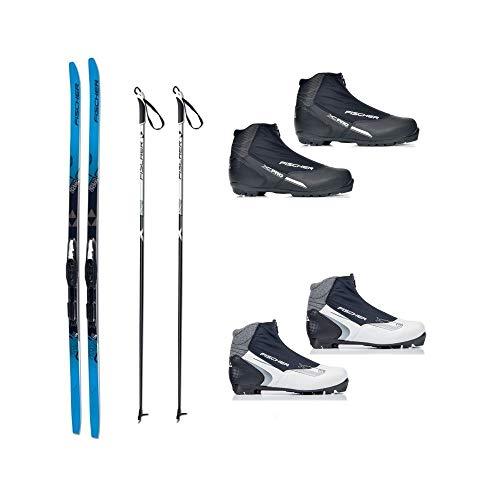 Langlauf Ski Set Cruising Fischer Jupiter Crown + Bdg + Schuhe XC Pro 2014/15 (174 Zentimeter, 41 Damen)