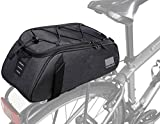 Roswheel Essentials Series 141465 Convertible Bike Trunk Bag Bicycle Rear Rack Pack Cycling...