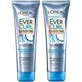 L'Oral Paris Hair Care EverCurl Sulfate Free Shampoo & Conditioner Kit, Hydrates + Softens, With Coconut Oil, For Curly Hair (8.5 Fl. Oz each)