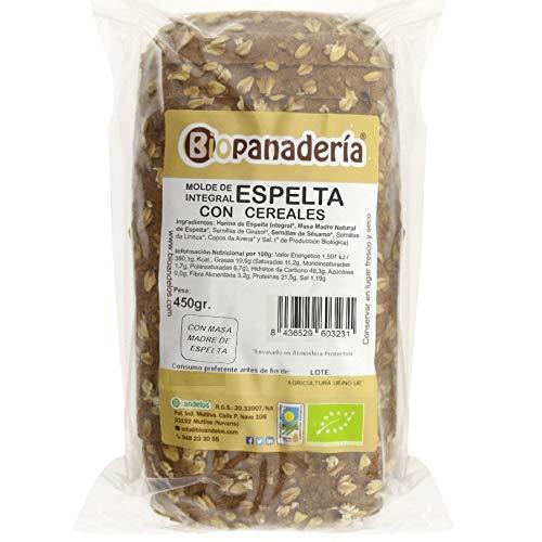 Biopanadería Pan de Molde Integral con Cereales Ecológico