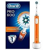 Oral-B PRO 600 CrossAction, Cepillo de dientes eléctrico recargable con tecnología Braun, edición...