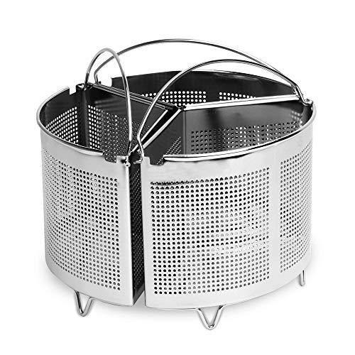 Set di 3 divisori casseruola con maniglie   Stoccaggio Stoviglie da cucina risparmio   Divisori in acciaio inossidabile   Cucina sana   M&W
