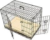 MAXX Cage de Transport Pliable pour Chiens 107 x 71 x 76cm,...