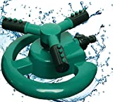 Rotary Three Arm Water Sprinkler Review