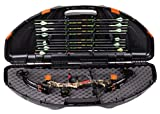 Flambeau Outdoors 6461SC Safe Shot Bow Case, Portable Bow Storage,...