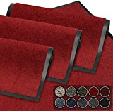 GadHome Tapis de Porte, Rouge 60x90 cm Tapis de Porte extérieur, imperméable,...