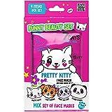 7DAYS Set Cadeau Funny Beauty Le Kit de 7 Masques Tissus Animal Design Soin...