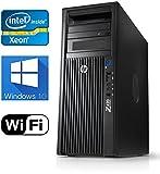 HP Z420 Workstation, Quad Core Xeon CPU upto 3.8GHz CPU, 16GB DDR3 RAM, New 240GB SSD & New 1TB HDD, Windows 10 Pro, USB 3.0, Nvidia Quadro 2000 1GB Video Card, WiFi (Renewed)