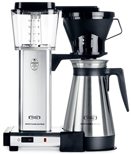 Technivorm 79112 KBT Coffee Brewer, 40 oz, Polished Silver