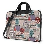 15.6″Durable Hombro Mensajero Bolsa maletín PC Campamento de Aventura Moda Impermeable Ordenador Portátil/portátil/Tablets
