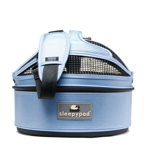 Sleepypod Mini Mobile Pet Bed, Sky Blue