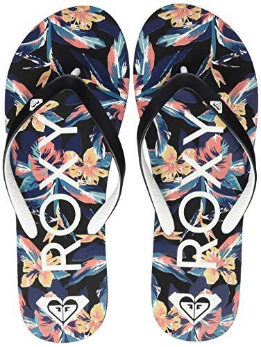 Roxy Tahiti, Zapatos de Playa y Piscina para Mujer, Negro Black, 39 EU