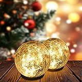 Solar Garden Ball...image