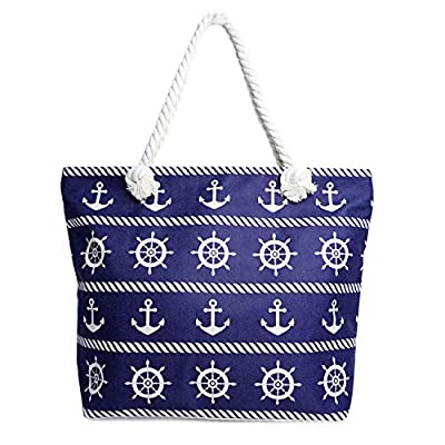 🌴 HIT THE BEACH IN STYLE - It's never too early to plan your next beach trip and search for a great bag to carry. Add a pop of color to your next summer getaway with these amazing beach bags. Choose your favorite design from nautical, starfish, flami...