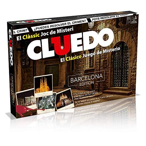Winning Moves Cluedo Barcelona (82233), multicolor (ELEVEN FORCE