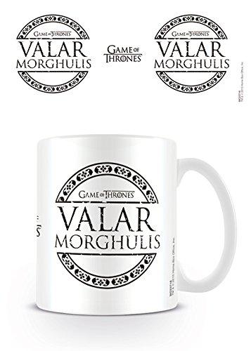 GB eye Taza Game of Thrones Valar Morghulis, cerámica, Unico
