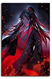 Megiri Art Decoración de pared Anime Grandmaster of Demonic Cultivation Artwork Print on Canvas for Wall Art for Home Office, lona, Sin marco., 20'x28'