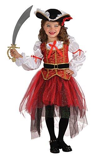Rubie's Let's Pretend Disfraz de Princesa de los Mares, como se Muestra, Small 4-6