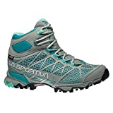 La Sportiva Women's Core High GTX Trail Hiking Boot, Grey/Mint, 38.5 M EU