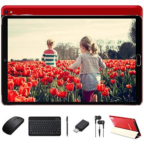 Tablette 10 Pouces 4Go RAM 64Go ROM Android 10 Pro GOODTEL Tablettes...