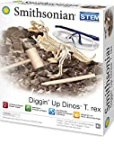 Smithsonian Diggin' Up Dinosaurs T-Rex Plastic Skeleton Set Educational,Fun,Science,Archeological Playset for Kids Age 8 up