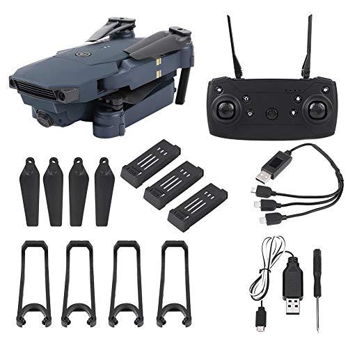 Drone FPV RC,L800 720P Hd Telecamera grandangolare Wifi pieghevole Quadcopter Rc Drone,Modalit senza testa One Key Return Altitude Hold,Rotolamento a 360 gradi, Supporto app,Nero