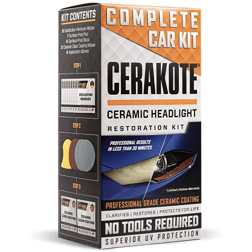 Best Headlight Restoration Kit 2021