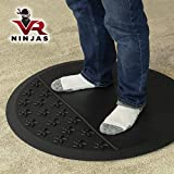 VR Ninjas Virtual Reality Mat for Position Orienting | VR Accessory | Braille for Your Feet! |...