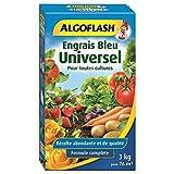 ALGOFLASH Engrais Bleu Universel, 3 kg, EBLE3