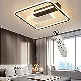 Plafonnier LED, plafonnier dimmable avec télécommande, lumière...