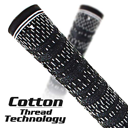 Product Image 2: Multi -Compound Golf Grips,Mid Size All-Weather Control Thread Technology Rubber Combine with Carbon Yard, Anti-Slip-Set of 13(Blue,midsize)
