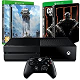 Console Xbox One 500Go Star Wars : Battlefront édition limitée + Steelbook exclusif Amazon Call of Duty : Black Ops III + Steelbook exclusif Amazon