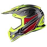 GLX Unisex-Adult GX23 Dirt Bike Off-Road Motocross ATV Motorcycle Helmet for Men Women, DOT Approved (Sear Yellow, X-Large)