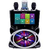 Karaoke USA Complete Wi-Fi Bluetooth Karaoke Machine with 9-Inch Touch Screen (WK849)