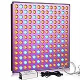Yasbed Lampe de croissance LED 75 W pour plantes d'intérieur avec spectre...