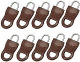 NMSLQ Juego de Tiradores de Cremalleras Desmontables universales: Cinturones Anchos Cintura elástica, reemplazos de Tiradores de Cremalleras Etiquetas de extracción de reparación duraderas
