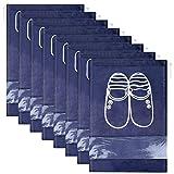 Lot de 12 Travel Sacs à Chaussures de Voyage, Sacs de Voyage Respirants Sacs Organisateurs,...