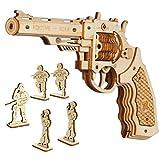 ROKR Pistolet en Bois à Assembler Model - Pistolet à Construire...